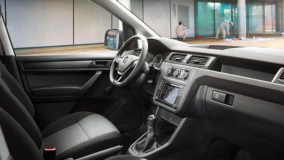 Stylish Caddy interior