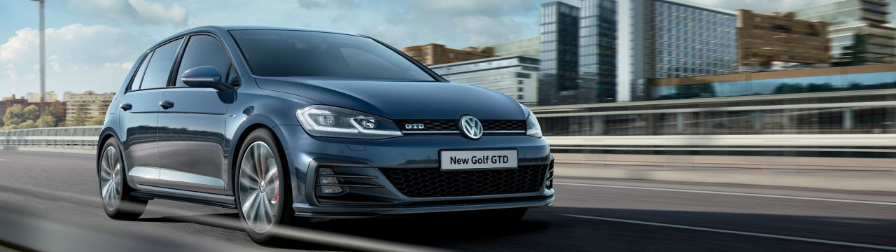 Stylish New Golf GTD
