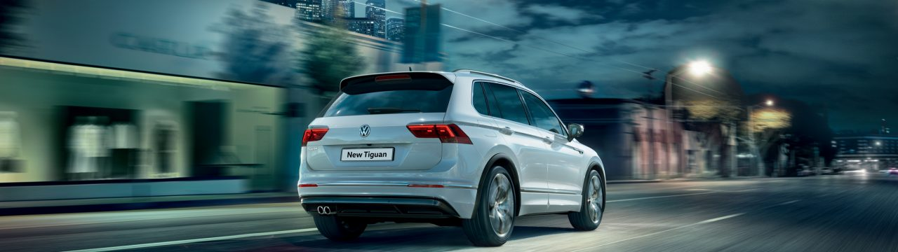 Stylish new Tiguan